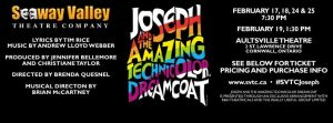 Joseph and the Amazing Technicolor Dreamcoat - Seaway Valley Theatre Company @ Aultsville Theatre | Cornwall | Ontario | Canada