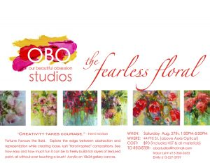 OBO Studios - the Fearless Floral @ OBO Studios | Cornwall | Ontario | Canada