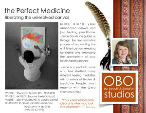 """the Perfect Medicine"" Workshop @ OBO Studios 
