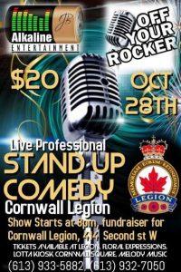 Cornwall Legion - Off Your Rocker @ Cornwall Legion | Cornwall | Ontario | Canada
