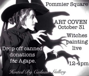 Art Coven - 'Witches' Painting Live - Pommier Jewellers Square @ Pommier Square | Cornwall | Ontario | Canada