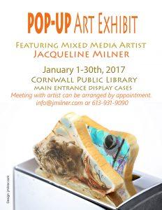 Jacqueline Milner Exhibit @ Cornwall Public Library | Cornwall | Ontario | Canada