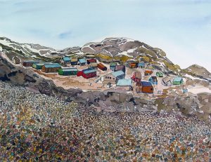 ARCTIC BEAUTY: A View of Nunavut  Paintings and Prints by Jane Macmillan @ Arbor Gallery Cultural Centre | Vankleek Hill | Ontario | Canada